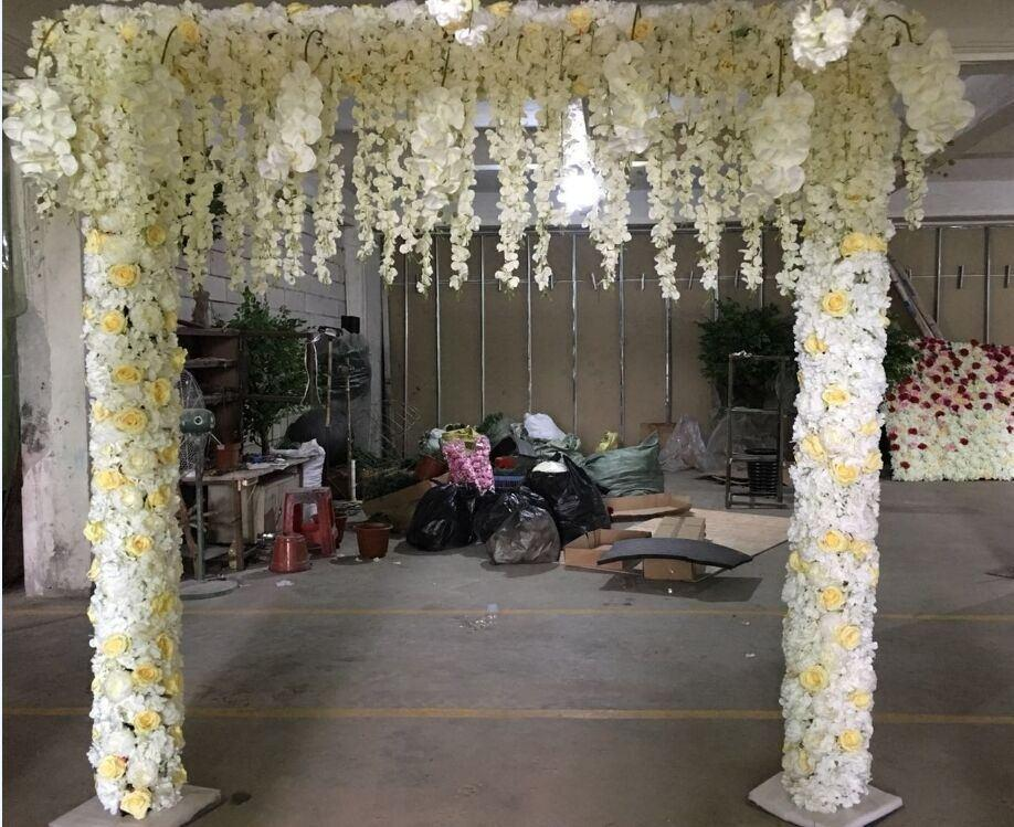 artificial flower arch