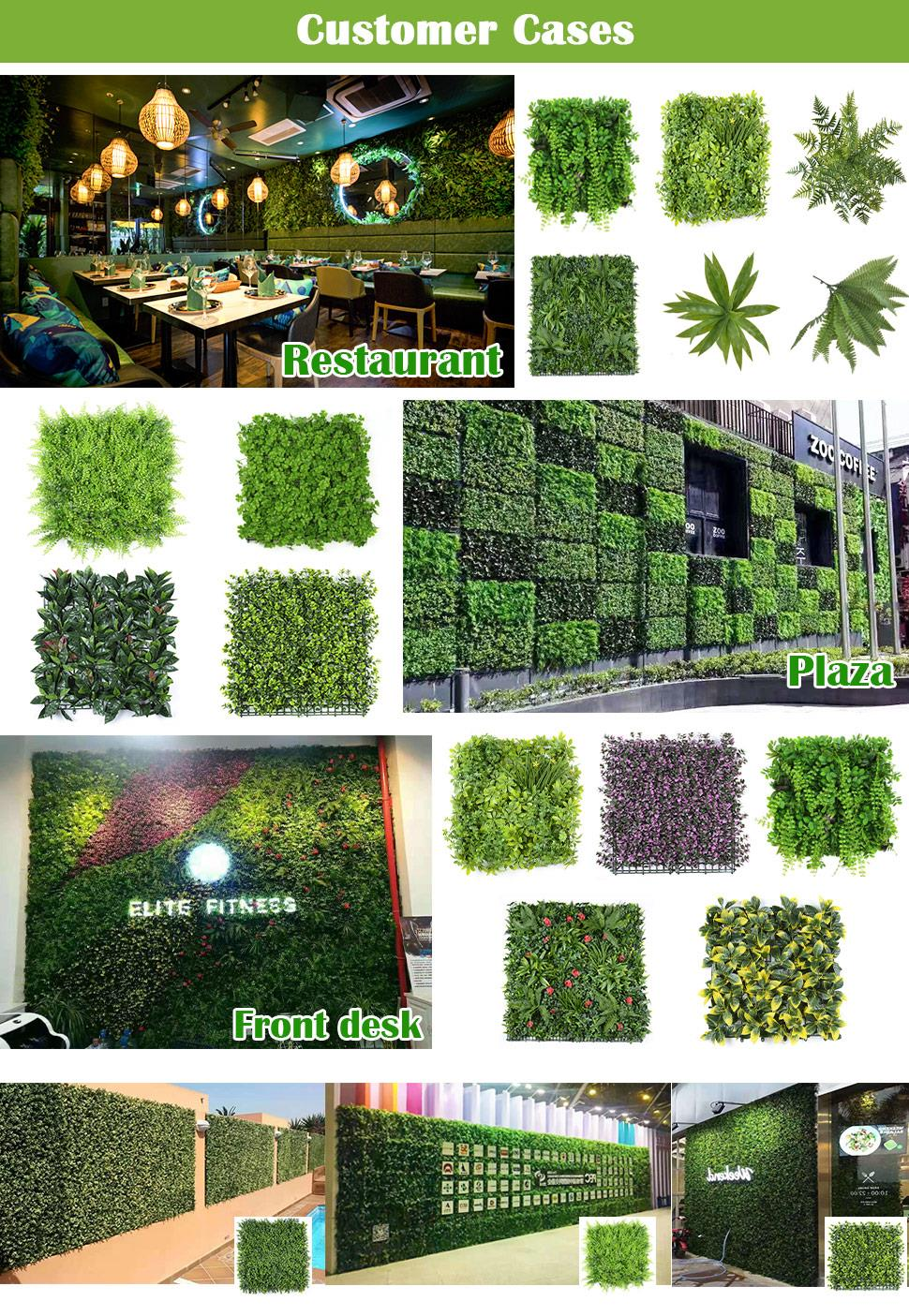 artificial grass wall cases