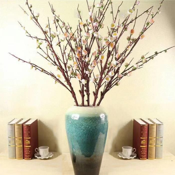 6 Forks Artificial Plum Blossom Branches