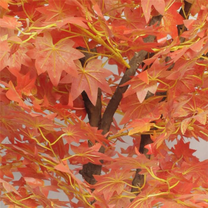 Artificial Green Maple Leaves Tree