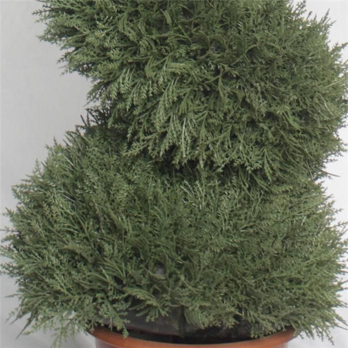 Artificial Spiral Potted Topiary Tree