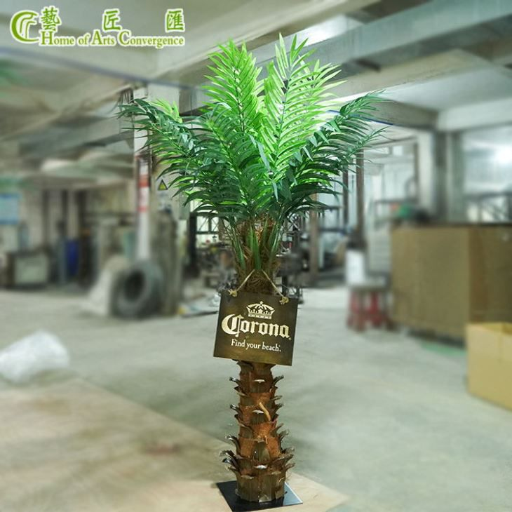 6ft Mini Fake Palm Tree Indoor Centerpiece Decoration