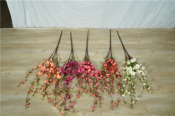 Artificial Peach Blossom Flower Branch