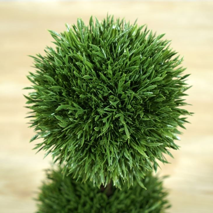 Cheap Artificial Grass Ball Tabletop Decoration Bonsai Ornaments