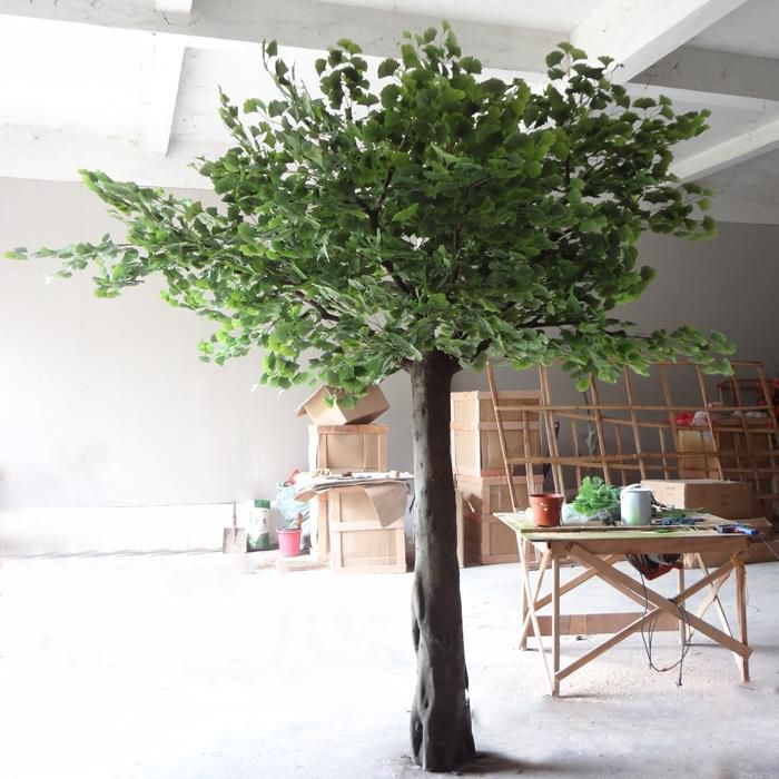 China Manufacturer High Simulation Ginkgo Tree