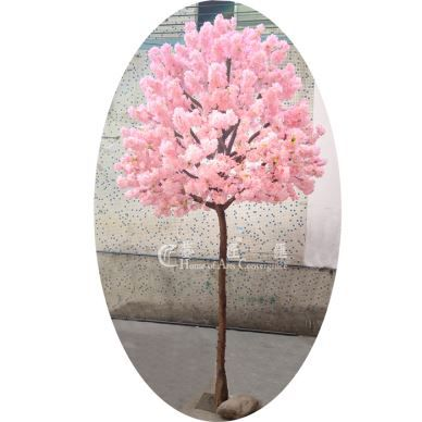 Cheap Artificial Delicate Cherry Blossom Tree Interior Decorative Arrangements