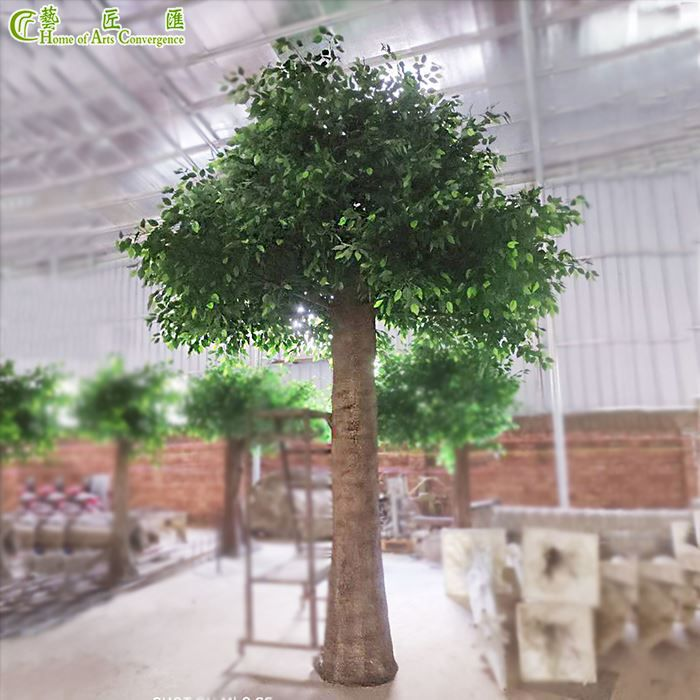 Long Lasting Huge Faux Ficus Tree Outdoor